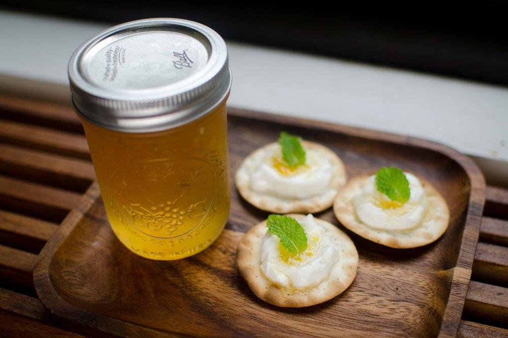 Lemon Drop Mead Preserve
